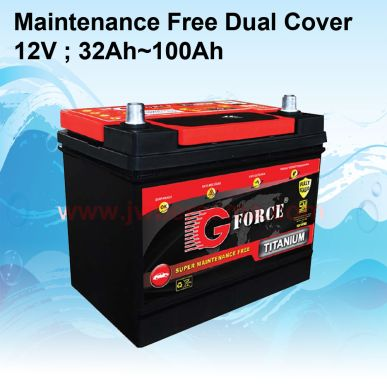 BATTERY  SMF 12V32Ah  100Ah   battery mf dual cover
