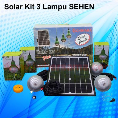 Solar Kit Solar Kit 3 Lampu Sehen  solar kit 3 lampu sehen  background